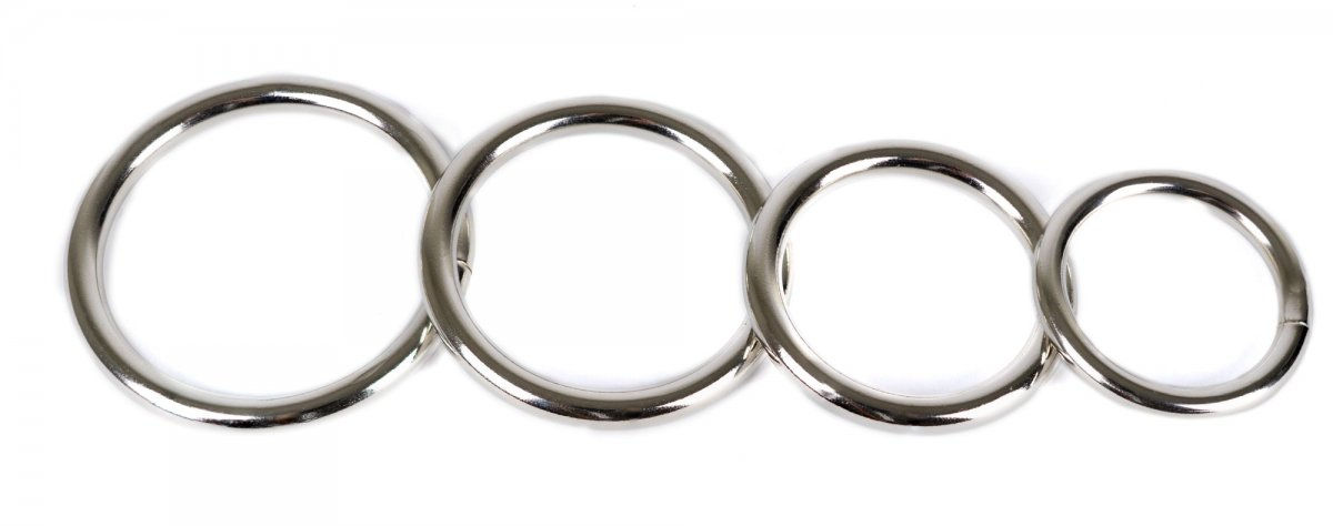 Spartacus Nickel Rings