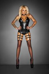 BODYSUIT WITH GARTER BELT