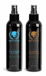 2oz Spartacus Premium Leather Cleaner & Conditioner Pack