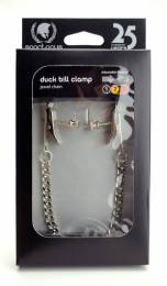 Adjustable Duck Bill Clamps - Jewel Chain