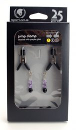 Purple Beaded Clamps - Jumper Cable