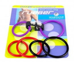 Interchangeable Dual Rubber Ring Set