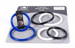 Spartacus 3-Pack Dual Nitrile Ring Set