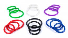 Fun Color Rubber Rings