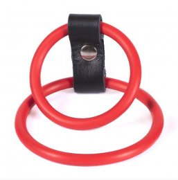 Nitrile Dual Ring - Red